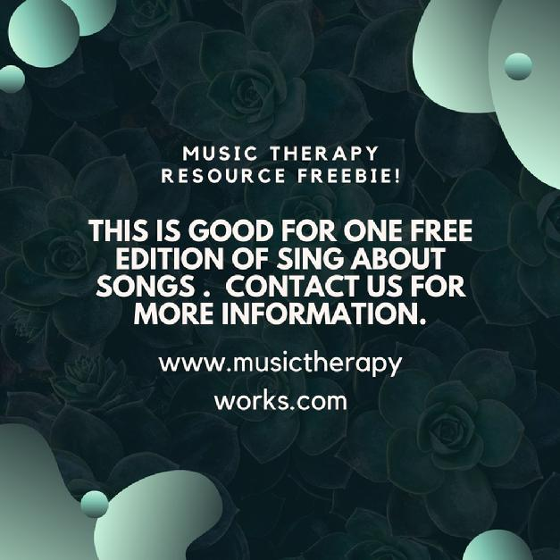 Free music therapy resources